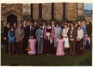 1170 - Hull 1979. L-R:-  Ben Duke, Helen Beard, Rosemary Duke, David Beard, Ken Staniforth, Chris Starbuck, Rachel Omer, Mark Lane, Peter Church, Roddy Horton, Chris Church, Ian Campbell, Maris Stephenson, Suzie Starbuck, Sarah Horton, Julia Pearson, Michael McLean, Graham Smith, Judith Haselhurst, Linda Beard, Jenny Starbuck, Paul Starbuck.